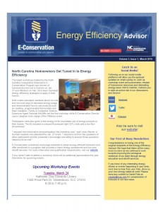 Energy Efficiency Advisor